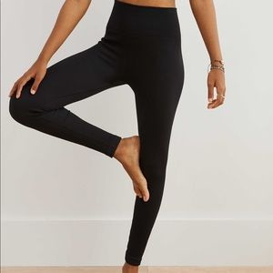 Aerie play seamless ribbed high waisted leggings